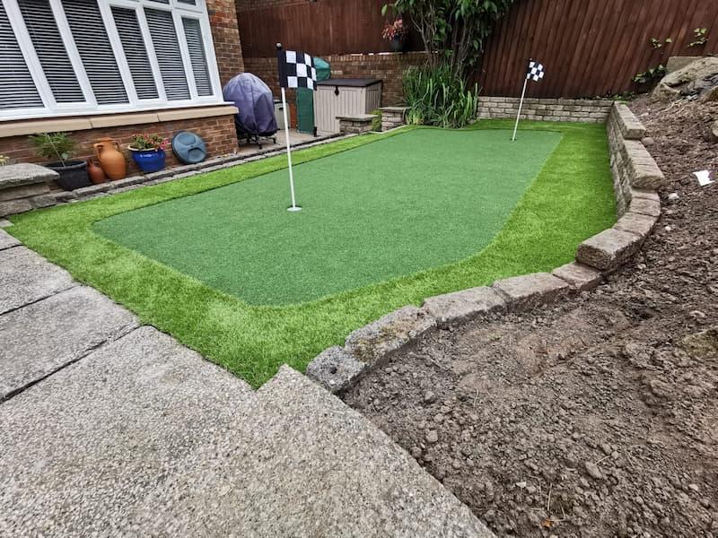 Small Golf Garden.